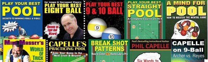 Reviews - Phil Capelle - Pool's #1 Instructional Author